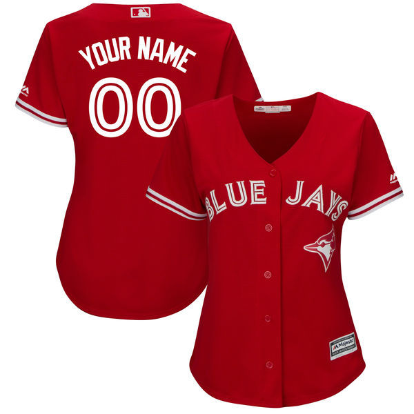 Toronto Blue Jays Custom MLB Jersey For Men ae3b244308