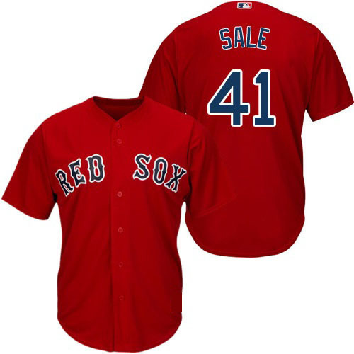 Chris Sale Boston Red Sox MLB Jersey For Men 63e2f9cab