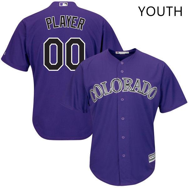 Custom Colorado Rockies MLB Jersey For Men, Women, Or