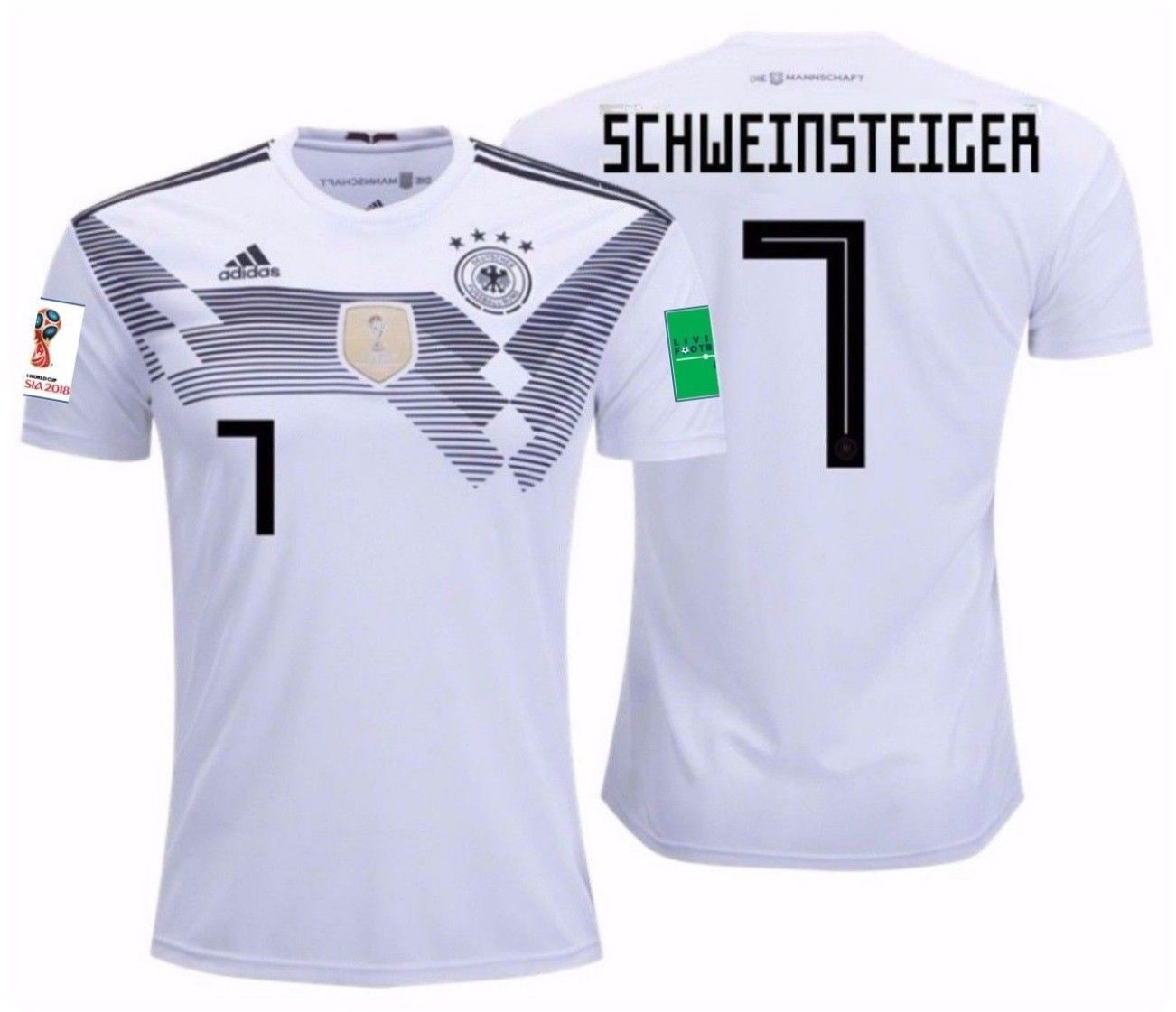 0e76b5b0fc4 Germany Soccer Jersey For Men, Women, or Youth - Custom Name and Number -  Refuse You Lose