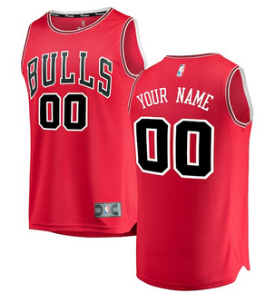 bc4095ae0 Custom Chicago Bulls NBA Basketball Jersey For Men
