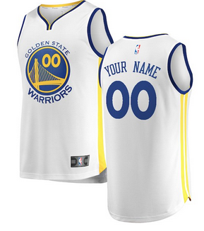 54cc2fd39b53 Custom Golden State Warriors NBA Basketball Jersey For Men