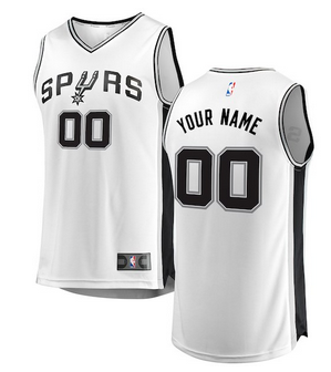 28207bac8 Custom San Antonio Spurs NBA Basketball Jersey For Men