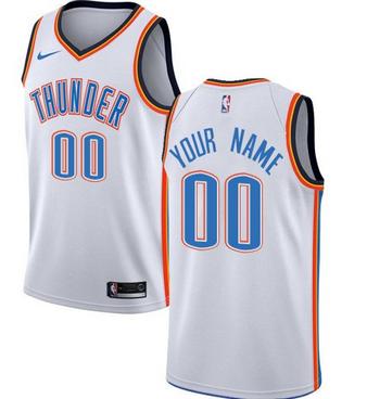 Custom Oklahoma City Thunder NBA Basketball Jersey For Men ad56d4459a