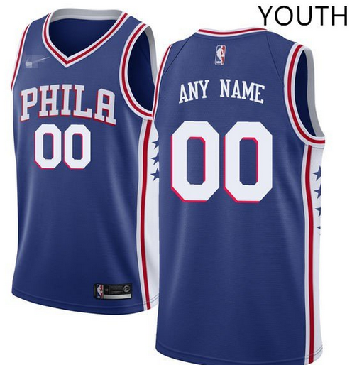 89f2000a4 Custom Philadelphia 76ers NBA Basketball Jersey For Men