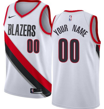 abe149caa4a Custom Portland Trail Blazers NBA Basketball Jersey For Men