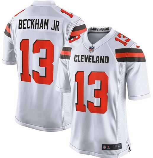 2a9de024b Odell Beckham Jr. Cleveland Browns NFL Football Jersey for Men ...
