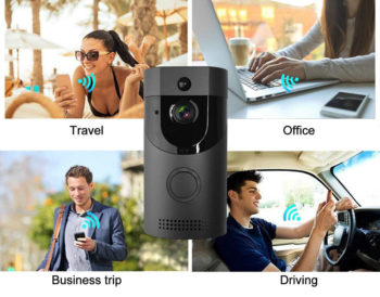 Waterproof HD Video Intercom with Night Vision For Smartphone