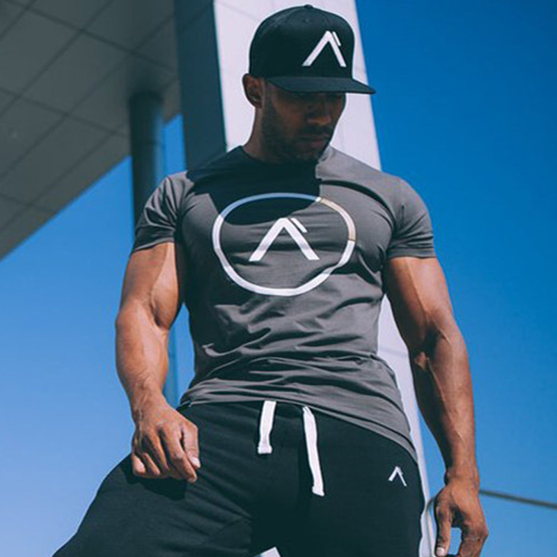 Fashion Sports Breathable Cotton Men's T-Shirt Refuse You Lose color: Black 3|Black 4|Gray 1|Gray 2|Gray 3|Gray 4|Gray 5|Gray 6|black 1|black 2|Dark Gray|Rose Red|White|Green|Red