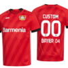 Bayer 04 Leverkusen Soccer Jersey for Men, Women, or Youth (Any Name and Number) Refuse You Lose color: Away|Third|Home