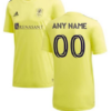 Nashville SC MLS Soccer Jersey for Men, Women, or Youth (Any Name and Number) Refuse You Lose color: Away Home