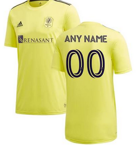 Nashville SC MLS Soccer Jersey for Men, Women, or Youth (Any Name and Number) Refuse You Lose color: Away|Home