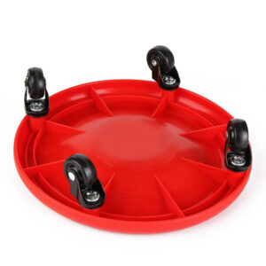 360 Degrees Abdominal Exercise Plate Refuse You Lose color: Black Blue Red Orange