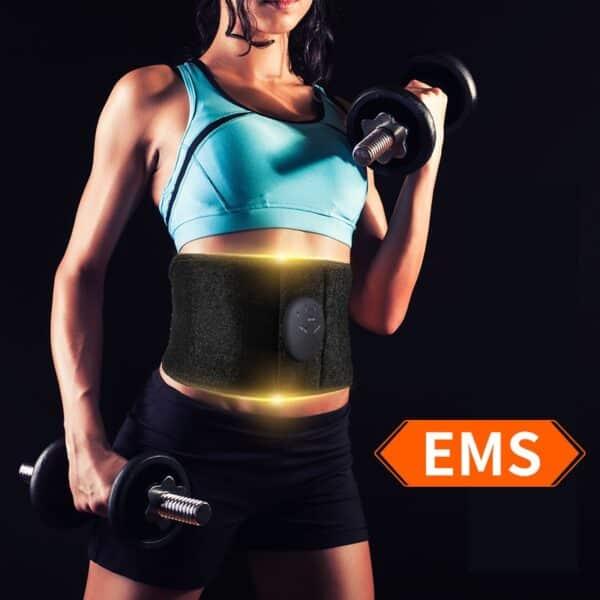 Abdominal Training EMS Muscle Stimulator Refuse You Lose Operation Method: Belt Type