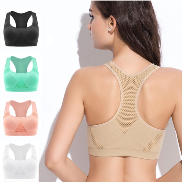 Absorb Sweat Sports Bras for Women Refuse You Lose color: 1 Black 1 Green|1 Black 1 khaki|1 Black 1 Pink|1 Black 1 White|1456 Black|1Black 1khaki 1Green|1Black 1White 1Green|1Black 1White 1khaki|1Black 1White 1Pink|2 Black|5 Colors|Black|Khaki|Pink|White|Green