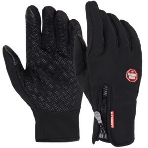 Anti-Slip Warm Touchscreen Cycling Gloves Refuse You Lose color: Black|Argentina|Dark Blue|Hot Pink|Orange|Purple