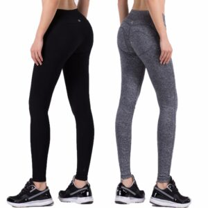 Elastic Solid Push Up Women's Leggings Refuse You Lose color: Red and Black|White and Black|Black|Pink|Silver|Argentina