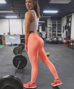 Fitness Anti Cellulite Leggings for Women Workout At Home Workout at Home For Women Best Gifts of 2020 Best Gifts For Women in 2020 For Women Gifts For Women Sportswear for Women Leggings and Pants For Women color: whiet|Black|Blue|Red|Gray|Pink|Coral Red|Green|Orange