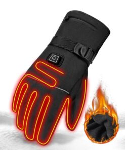 Heated Waterproof Motorcycle Gloves 2020 New Deals Best Gifts For Men in 2020 Gifts For Men Sports & Jerseys Gym and Fitness Gloves color: A1 No Battery|A1 With 2pcs Battery|A2 No Battery|A2 With 2pcs Battery