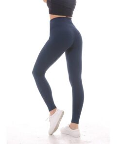 High Elastic Solid Women's Nylon Sports Leggings Workout At Home Workout at Home For Women 2020 New Deals Best Gifts For Women in 2020 For Women Gifts For Women Sportswear for Women Leggings and Pants For Women color: Black Camo|deepnavy|Green Camo|Mach blue|Black|Gray|Leopard|Navy Blue|Vintage Grape