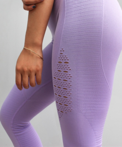 Hollow-Out Mesh Sports Women's Leggings Workout At Home Workout at Home For Women 2020 New Deals Best Gifts For Women in 2020 For Women Gifts For Women Sportswear for Women Leggings and Pants For Women color: Black|Blue|Red|Gray|Army Green|Light Purple|Purple