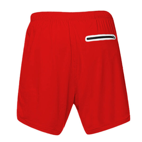 Men's Breathable Running Shorts Refuse You Lose color: Army green buckle Black buckle Dark gray buckle Navy buckle Red buckle Silver grey buckle White buckle Black Dark Gray Red Khaki Silver Grey White Army Green Navy