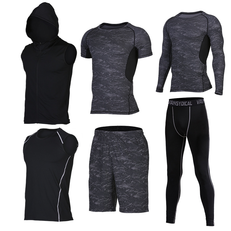 Quick-Dry Workout Set for Men