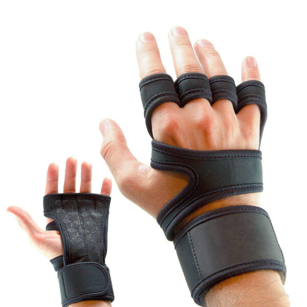 Sports Gloves with Wrist Wrap Refuse You Lose size: Small Medium Large XL 2XL