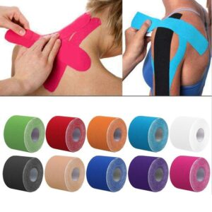 Sports Recovery Tapes for Muscles Refuse You Lose color: Green camouflage|Pink camouflage|Skin|Black|Blue|Red|Pink|White|Yellow|Argentina|Blue Camouflage|Green|Orange|Purple