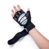 Strong Half Finger Gloves 2020 New Deals Best Gifts For Men in 2020 Gifts For Men Sports & Jerseys Gym and Fitness Gloves color: Red|White