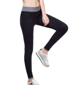 Women's Breathable Elastic Sports Leggings Workout At Home Workout at Home For Women 2020 New Deals Best Gifts For Women in 2020 For Women Gifts For Women Sportswear for Women Leggings and Pants For Women color: Black|Grey|Purple|Wine Red