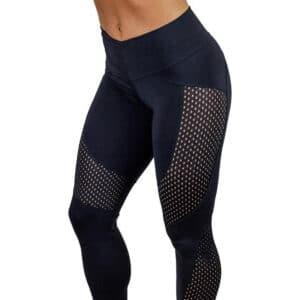 Women's Breathable Mesh Leggings Refuse You Lose color: Black|Blue|Rose