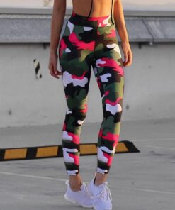 Women's Camouflage Pattern Sport Leggings Workout At Home Workout at Home For Women 2020 New Deals Best Gifts For Women in 2020 For Women Gifts For Women Sportswear for Women Leggings and Pants For Women color: S1|S2|S3