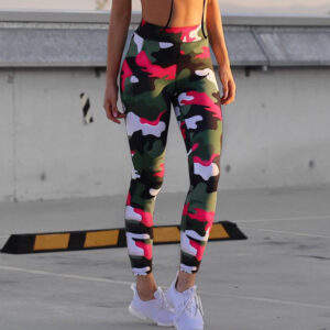 Women's Camouflage Pattern Sport Leggings Refuse You Lose color: S1|S2|S3