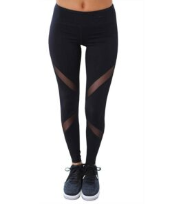 Women's Mesh Leggings Workout At Home Workout at Home For Women 2020 New Deals Best Gifts of 2020 Best Gifts For Women in 2020 For Women Gifts For Women Sportswear for Women Leggings and Pants For Women color: Black|Blue|Gray|Army Green
