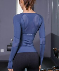 Women's Solid Color Long Sleeve Sports Top Workout At Home Workout at Home For Women Best Gifts of 2020 Best Gifts For Women in 2020 For Women Gifts For Women Shirts For Women Sportswear for Women color: Black|Blue|Pink