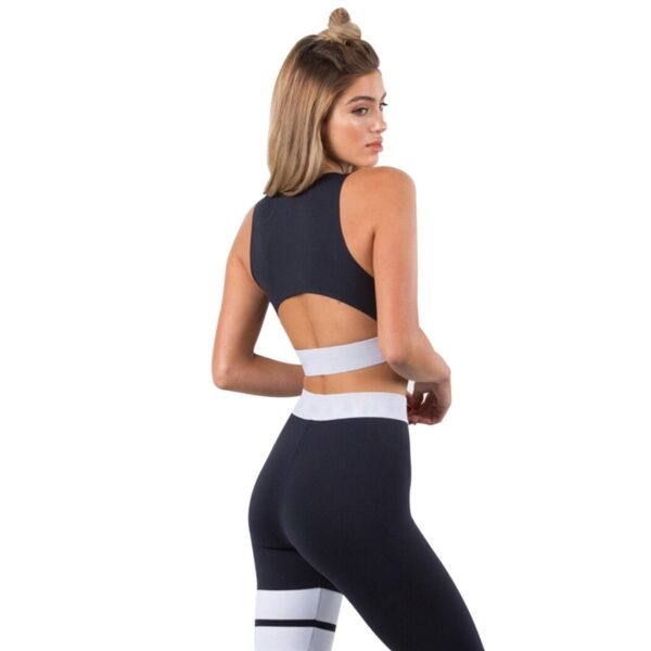 Women's Solid Color Sports Set Refuse You Lose color: Black|Red
